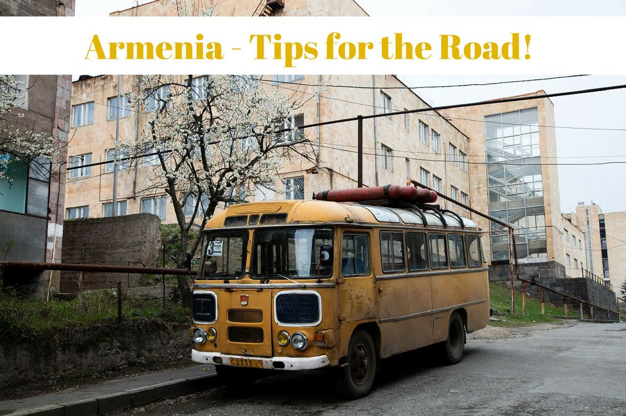 Armenia Driving - Tips and Hints for the Road