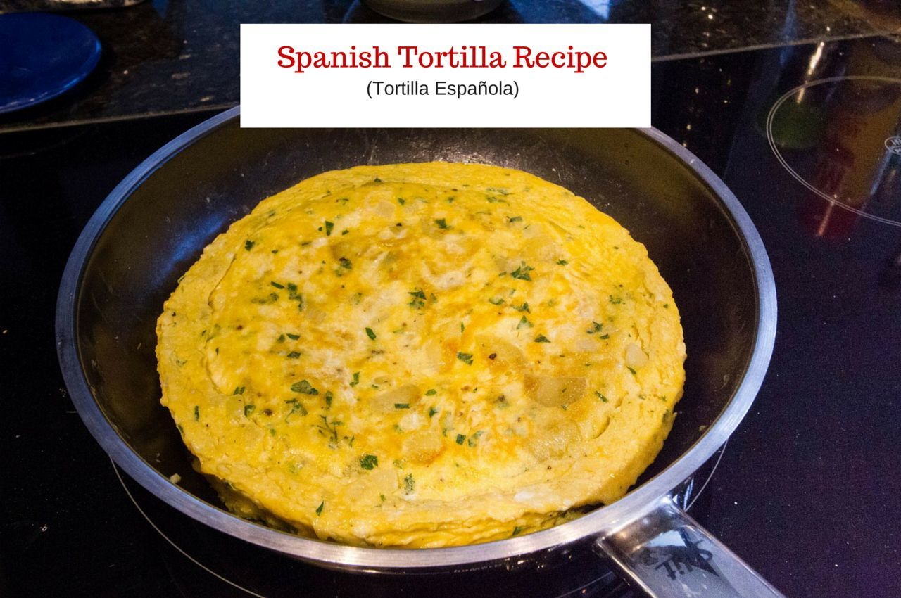 A Savory Spanish Tortilla Recipe