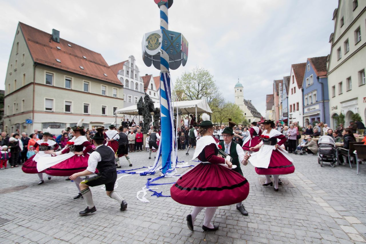 Welcoming Spring with Germany Maypole Celebrations