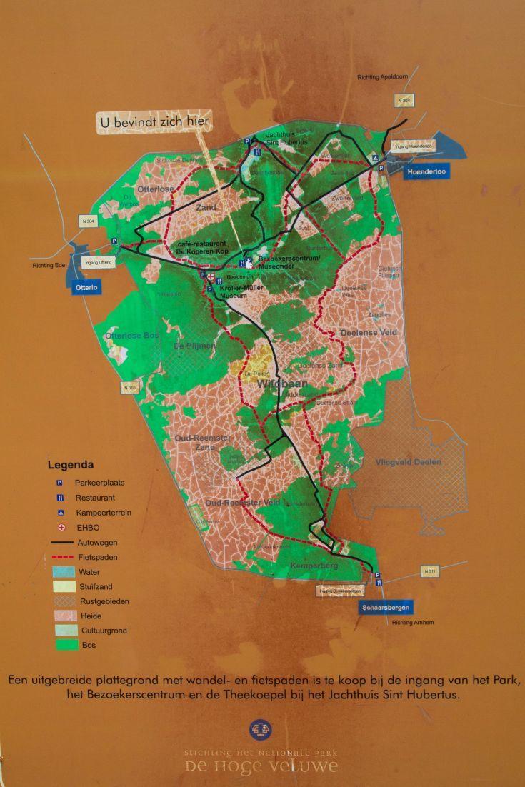 Pedaling the Bike Trails of Hoge Veluwe, the Netherlands