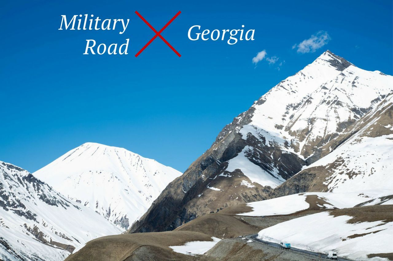 Lurching, Dodging, and Screeching, Driving the Military Road in Georgia