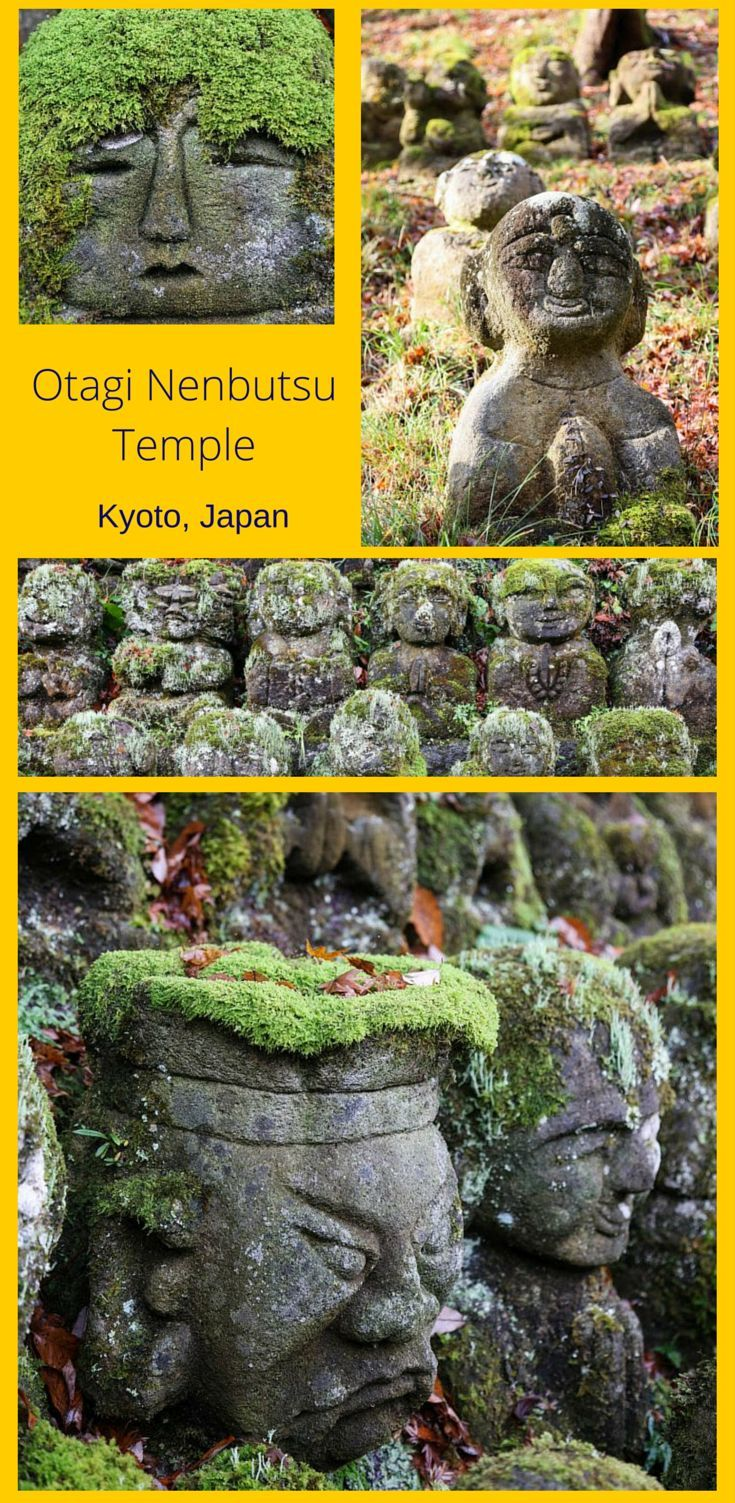The Whimsical Otagi Nenbutsu Temple, Kyoto