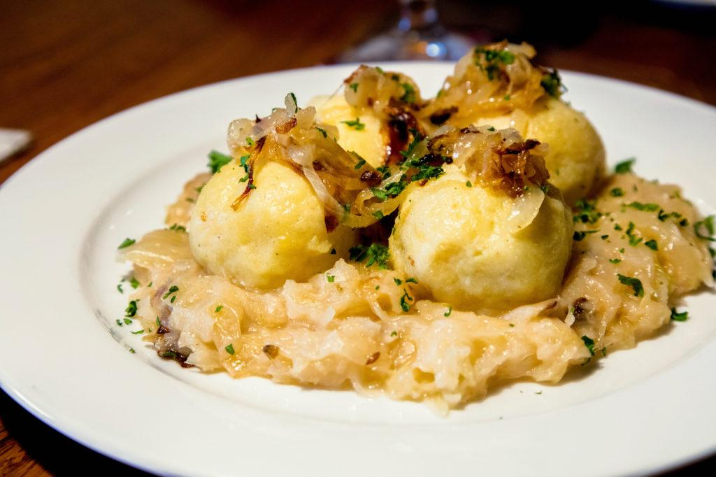 Czech bacon dumplings