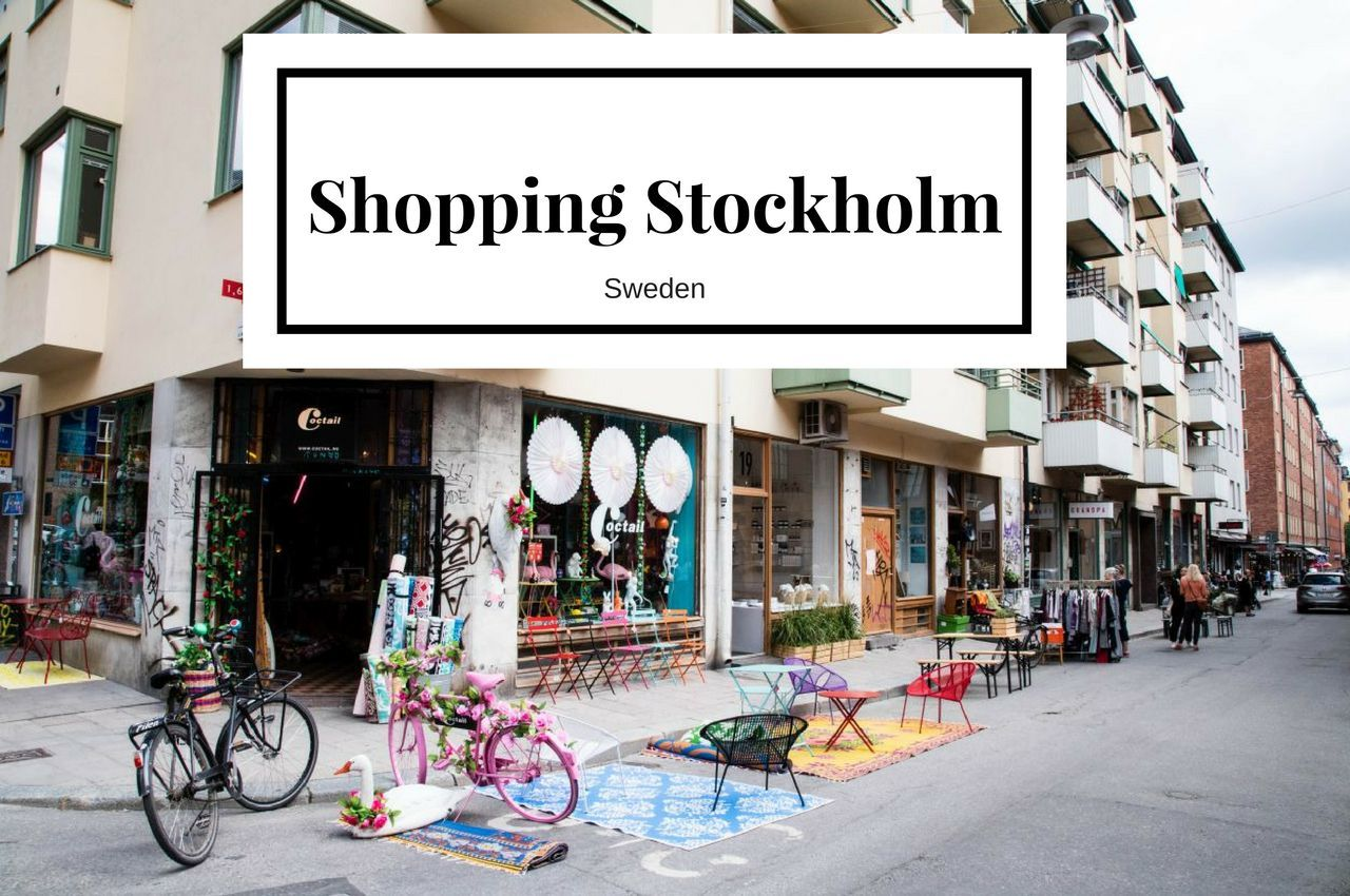 Best Shopping Stockholm - Get Your Design On