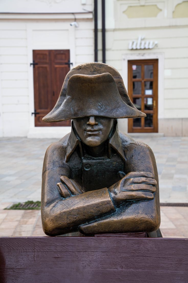 Bronze statues are found throughout the city of Bratislava. Click here to find out what else there is to see.