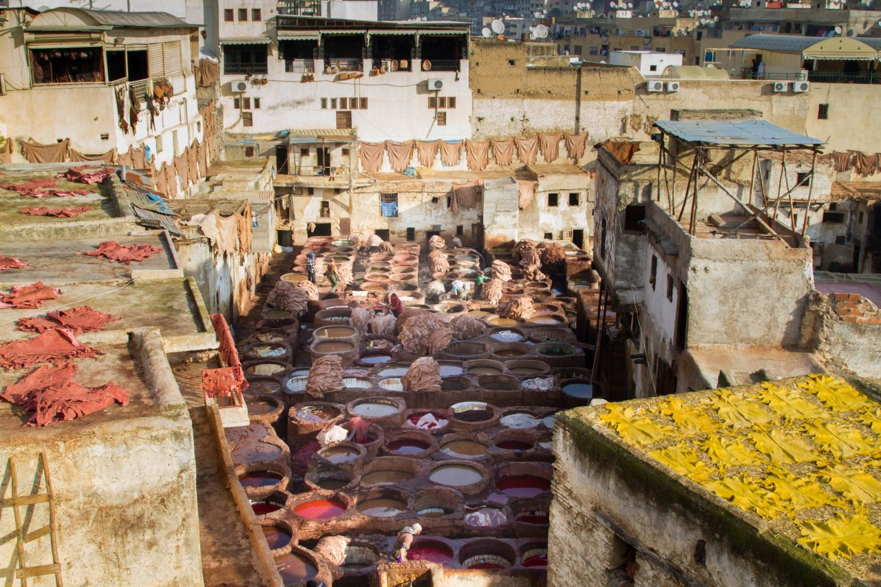 Exploring The Souk and Tanneries of Fez, Morocco