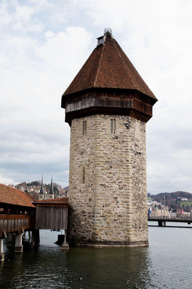 Wasserturm in Lucerne