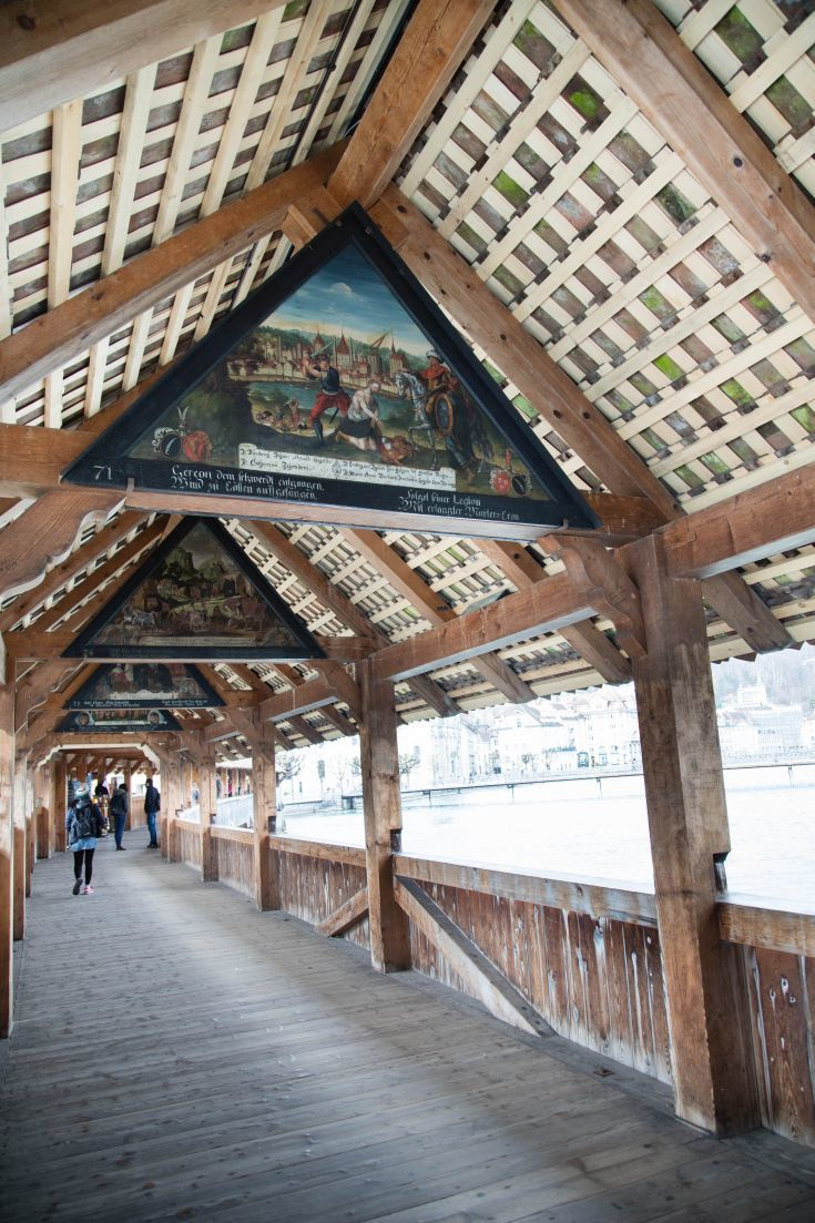 Kappelbrucke Lucerne