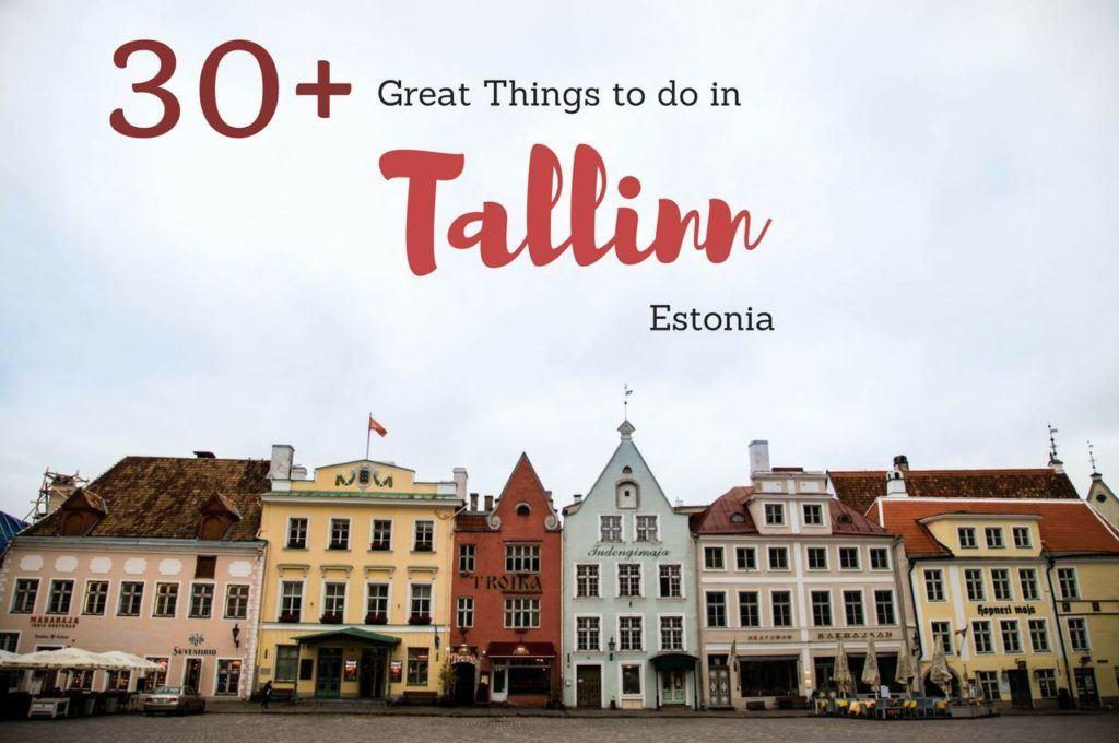 30+ Things to do in Tallinn, Estonia