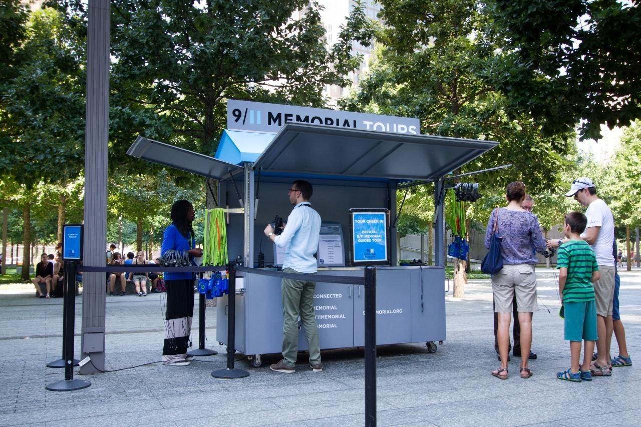 September 11 Memorial Kiosk