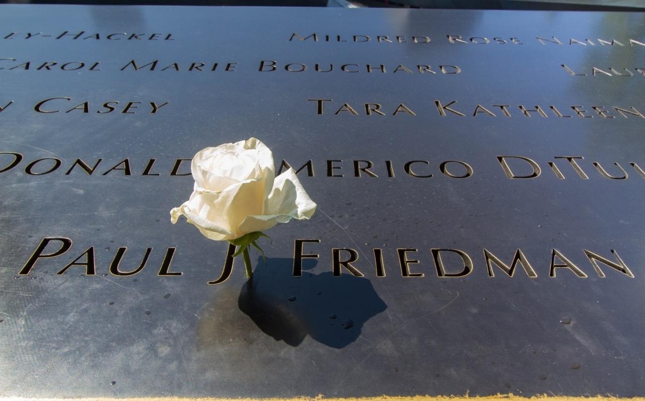 September 11 Memorial White Rose