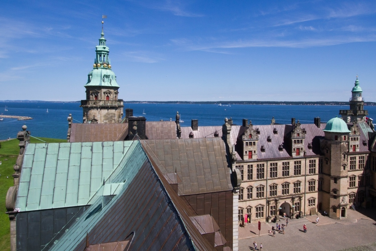 Kronborg Castle, Hamlet's Castle, or Helsingor Castle all names for Denmark's Famous castle