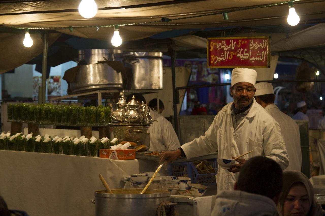 Intriguing Food Stalls of Jemaa el Fna, Marrakesh