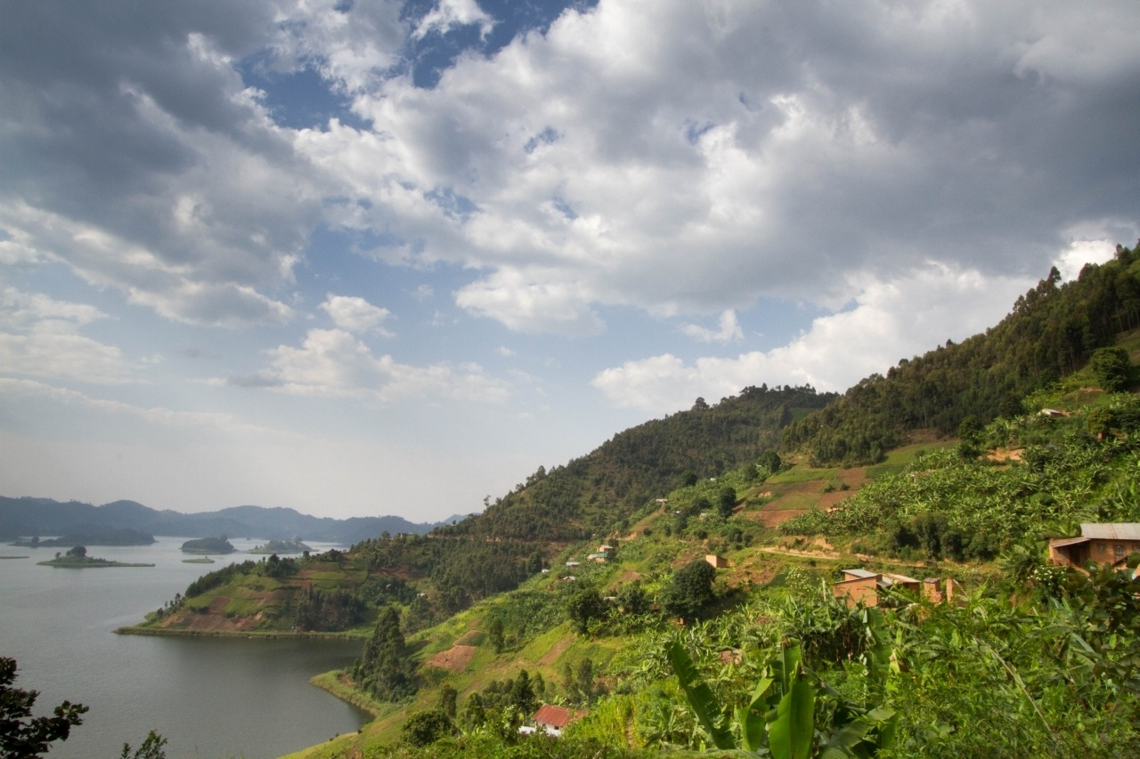 Incredible view of Lake Mutanda on our Uganda Self Drive