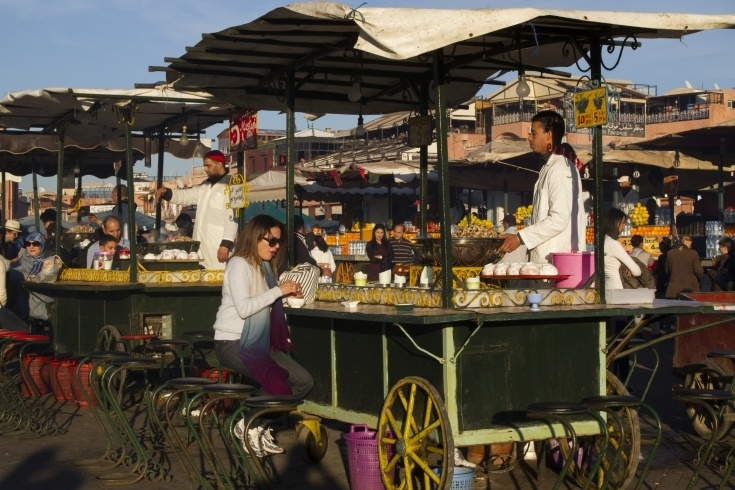 Intriguing Food Stalls of Jemaa el Fna, Marrakesh