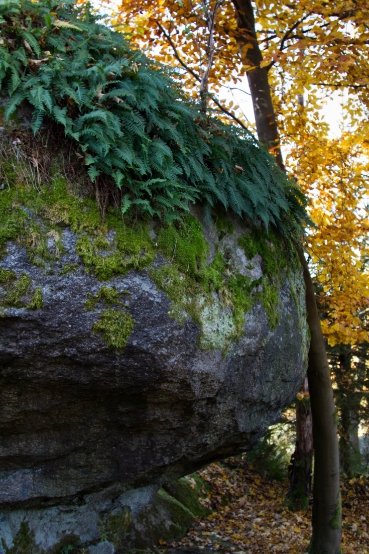 Climbing and hiking through Luisenburg Rock Labyrinth