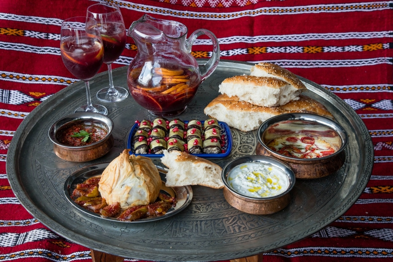 Appetizers from around the world
