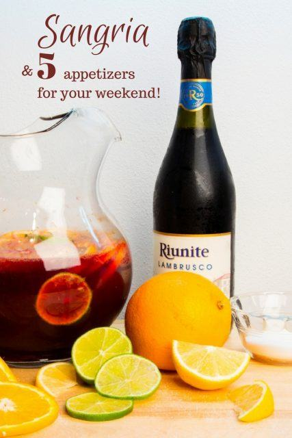 Click here for the best Sangria ever! Bonus, 5 moutwatering appetizers from around the world.