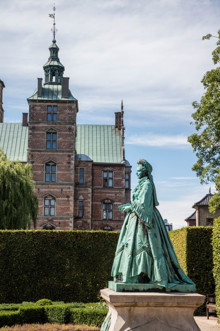Don't miss the Rosenborg Castle on your 2 days in Copenhagen.