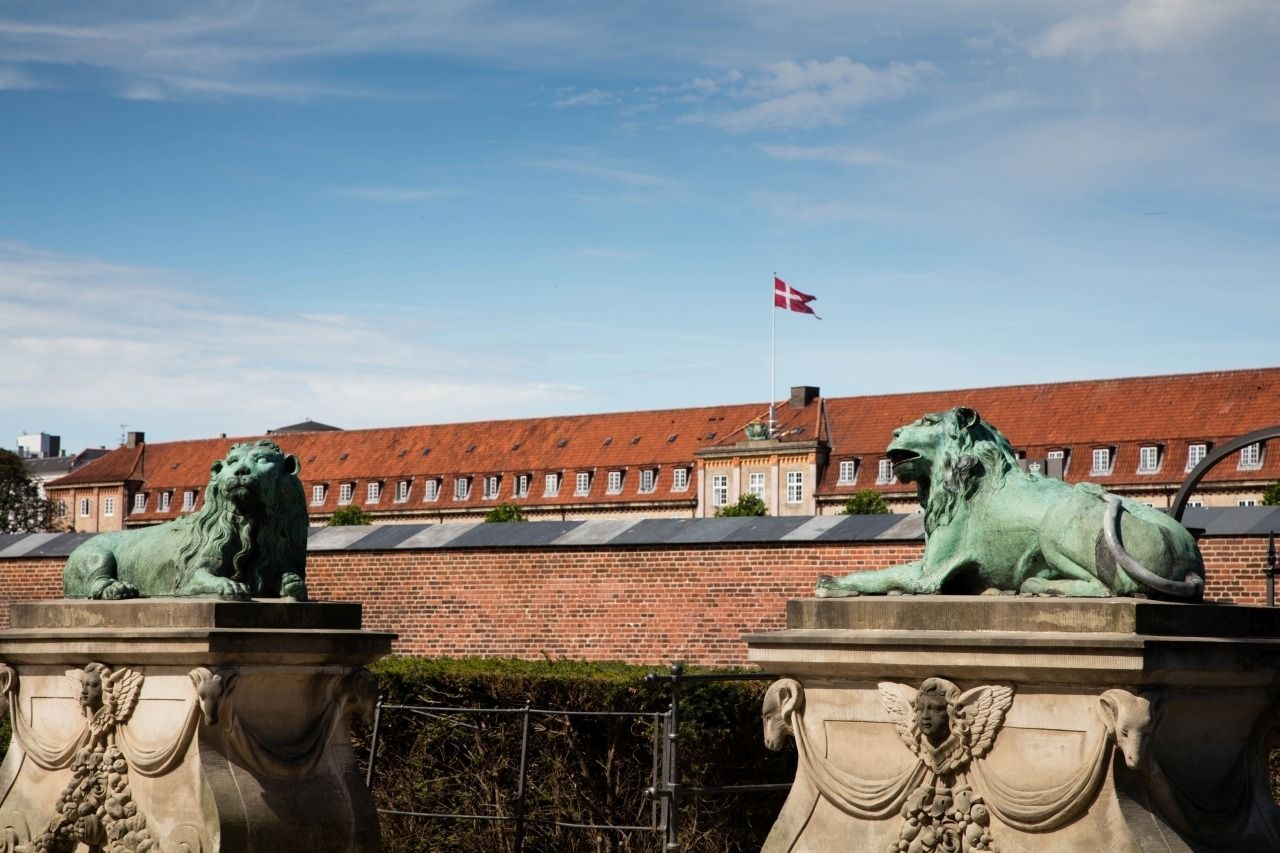 Lion's Gate at Rosenborg Palace - Copenhagen