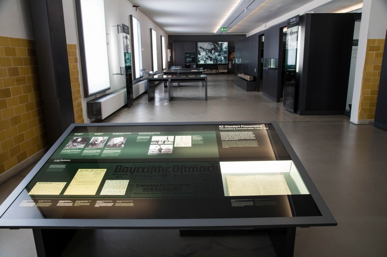 There is a lot of reading and information stored in the museum of Flossenburg, location, facts, biographies.