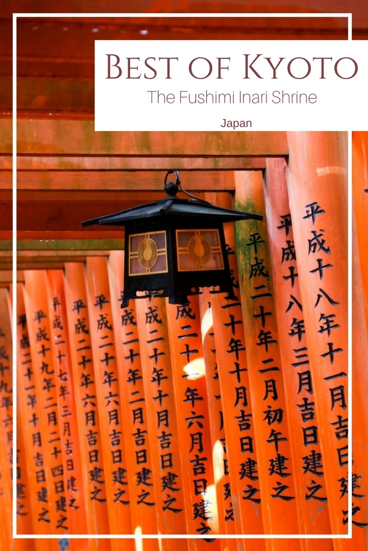 With thousands of orange torii gates shining in the sun, it's no wonder this shrine is the number one thing to see in Kyoto. Click here for more photos and information.