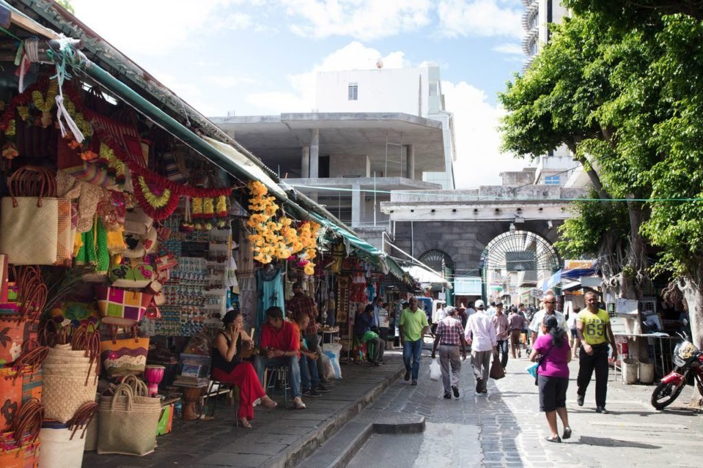 One of the best things to do in Port Louis, the Central Market.
