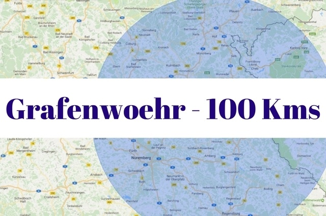 What to see and do within 100 kilometers of Grafenwoehr, Germany.