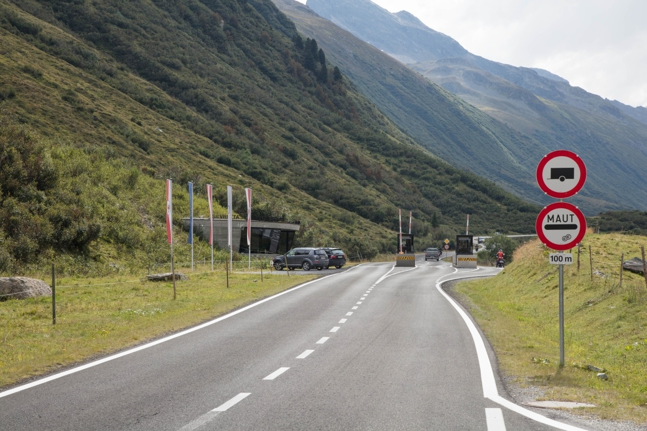 Entry to the Tauern National Park, Austria