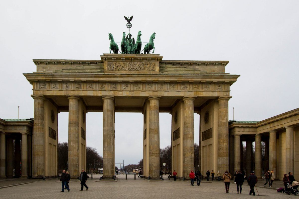 One of Berlin's top sights - the Brandenburg Gate