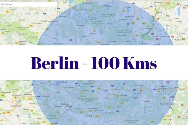 What to see and do within 100 kilometers of Berlin, Germany.