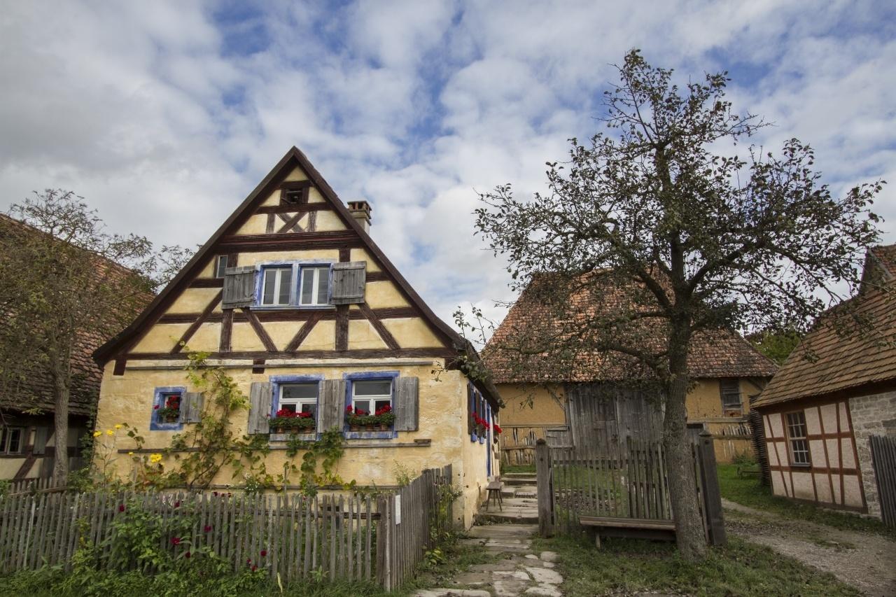 Open Air Museum Bad Winsheim Germany