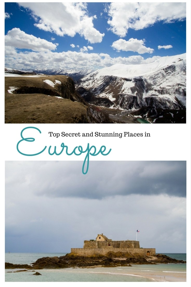 Are you looking for some new and beautiful places in Europe to travel to? We've highlighted ten places that you may not have ever heard of, yet they are stunning and gorgeous. Click here to find out where they are! ...............................places to see in Europe | hidden gems in Europe | secret places in Europe | places to go in Europe | beautiful places in Europe