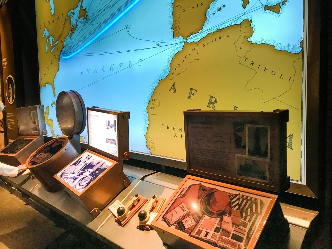 Titanic Experience Belfast exhibits