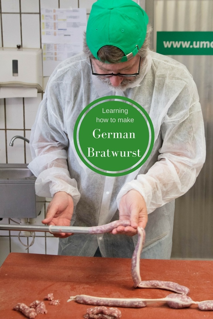 German Sausages, How to Make and Cook Bratwurst!