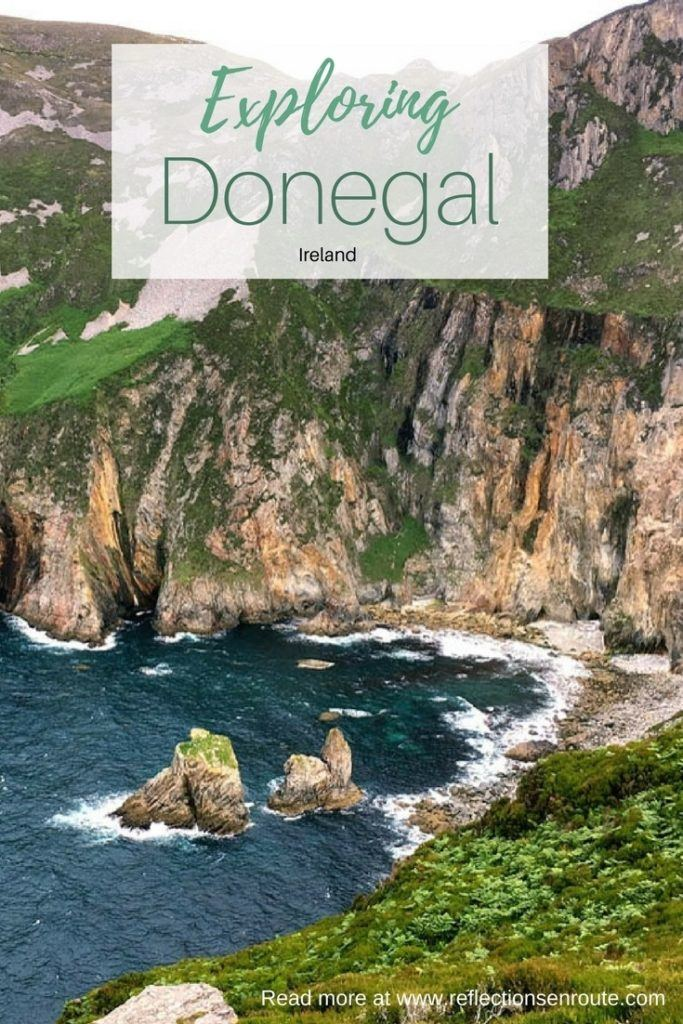 Exploring Donegal at Slieve League, one of Irelands famous cliffs.