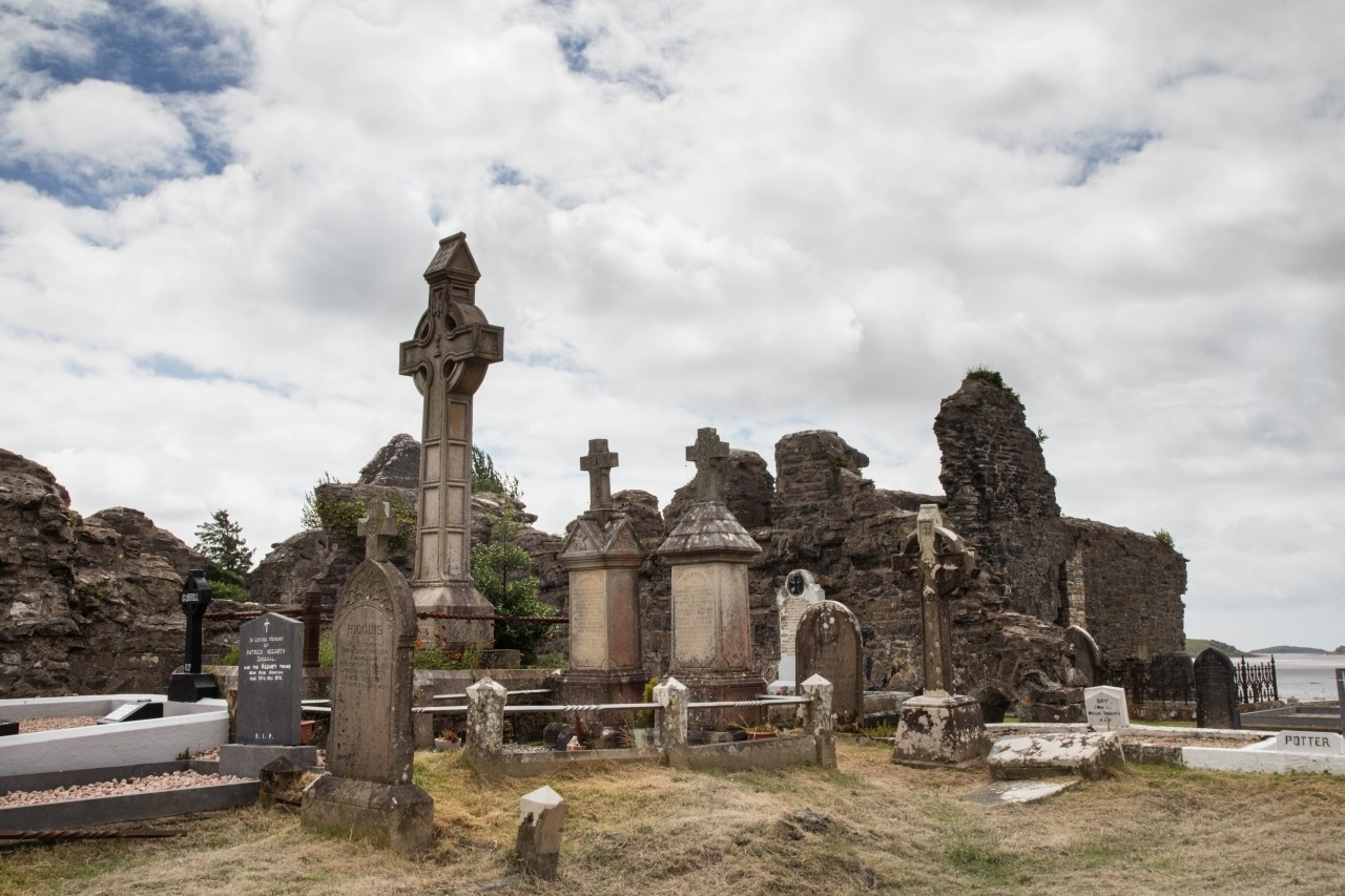 In Ireland, Celtic crosses like these at Donegal Friary are popular photographs