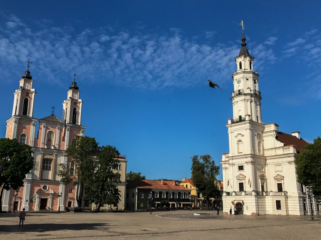 Town Hall in Kaunas Lithuania is one of the main things to do