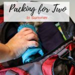 Traveling In Summer With Carry-ons For Two People