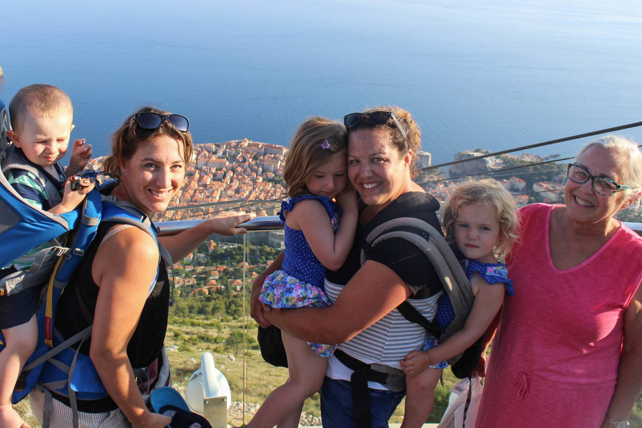 The two families in Dubrovnik