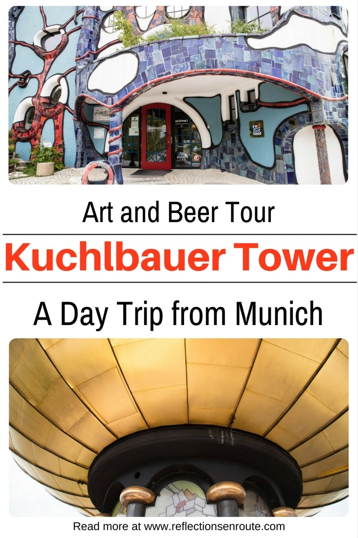 The Kuchbauer Tower and Tour - Art with a side of beer!