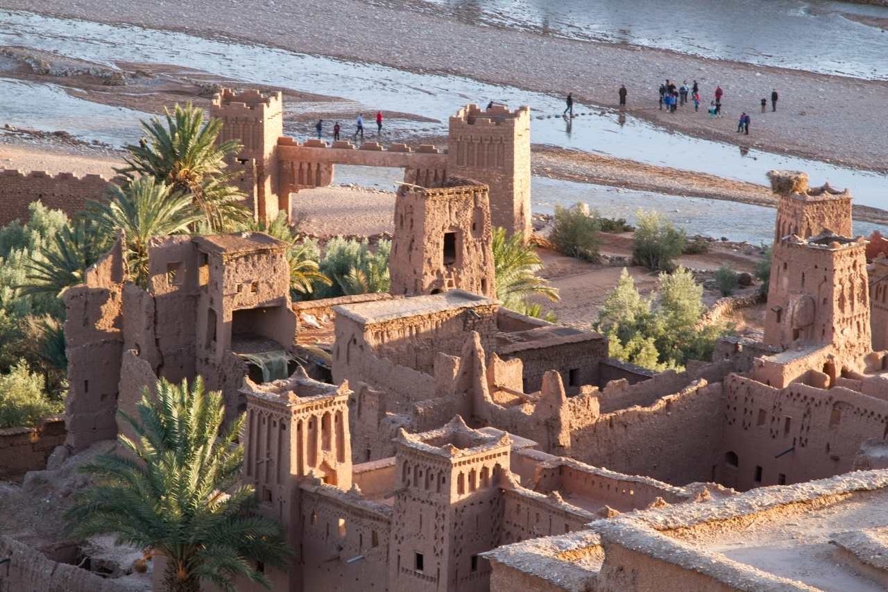 Ait Benhaddou and the Ounila River