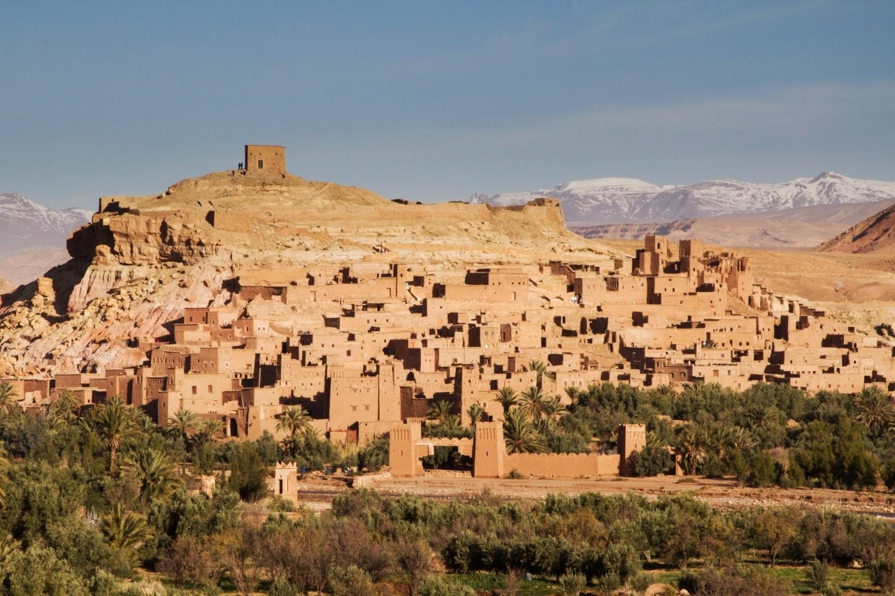The fortified city of Ait Benhaddou