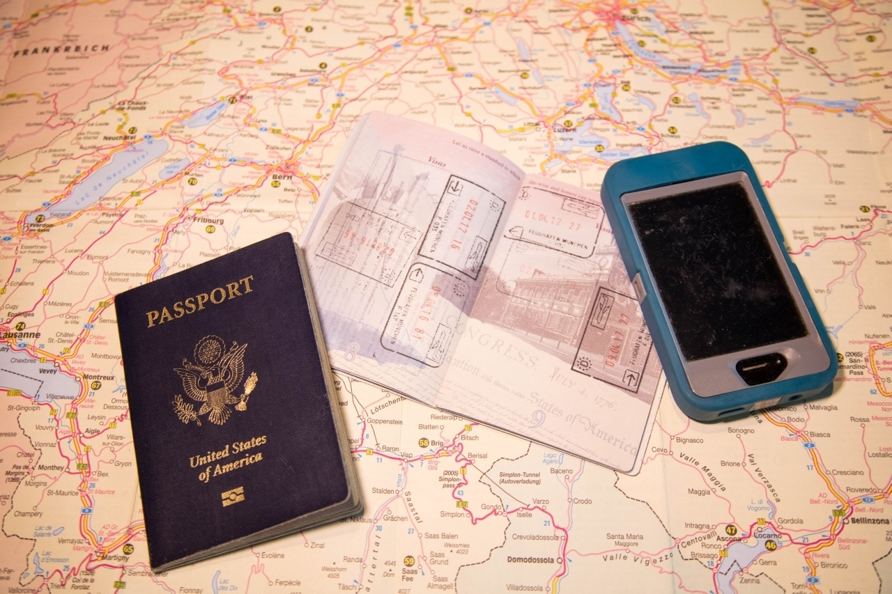 Passports and Schengen stamps
