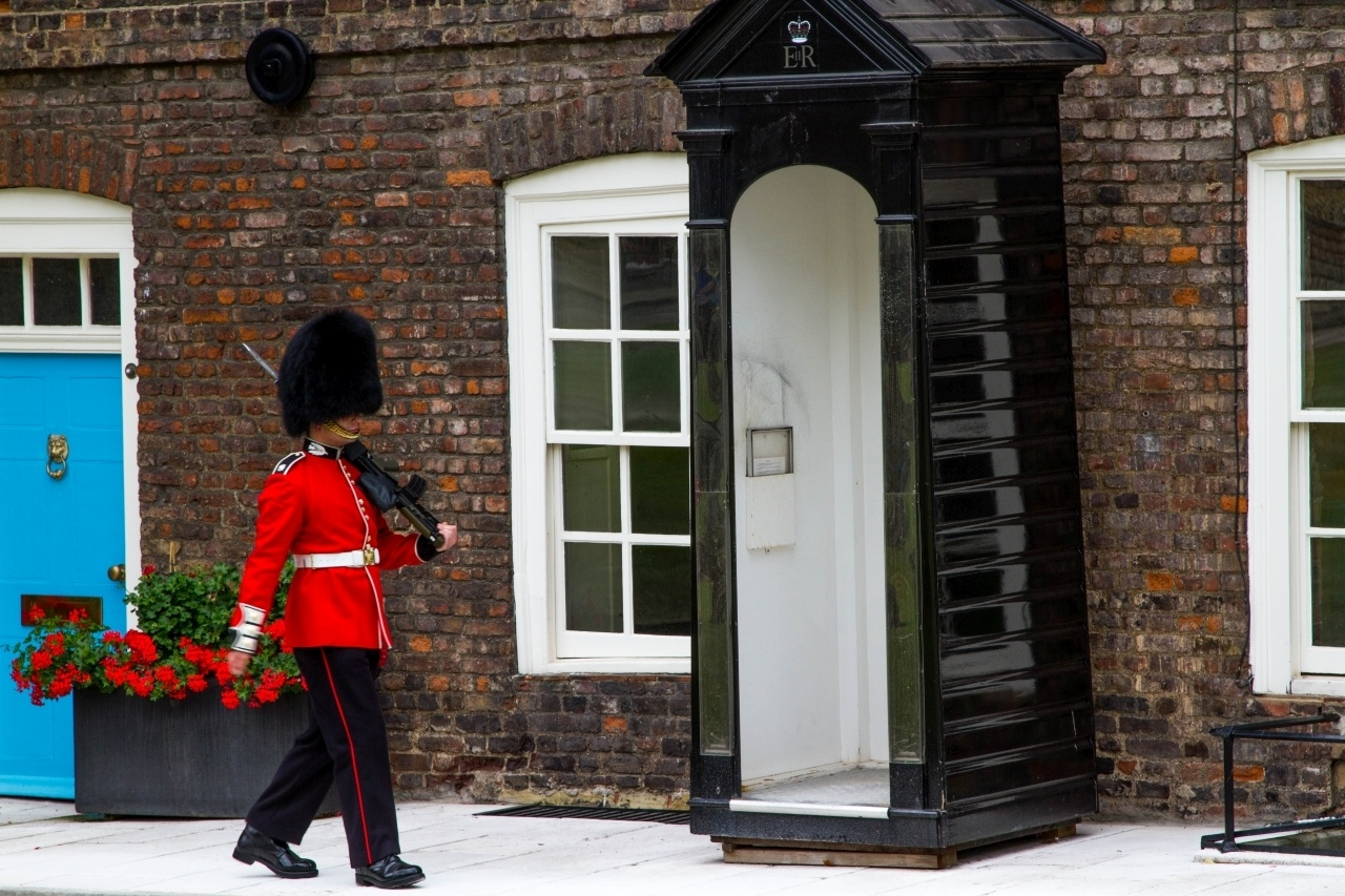 Palace guard in London.