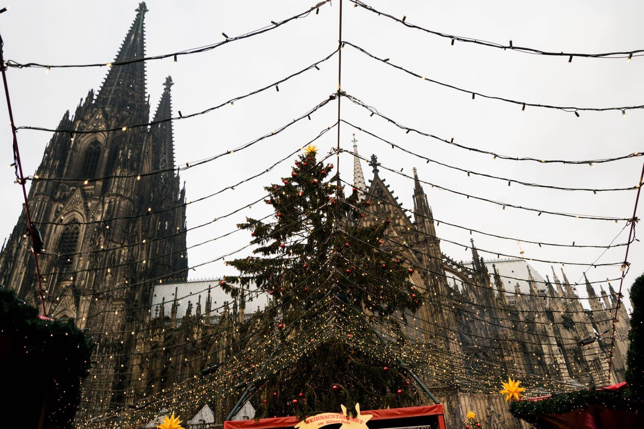Cologne, Germany Christmas Market and Dom