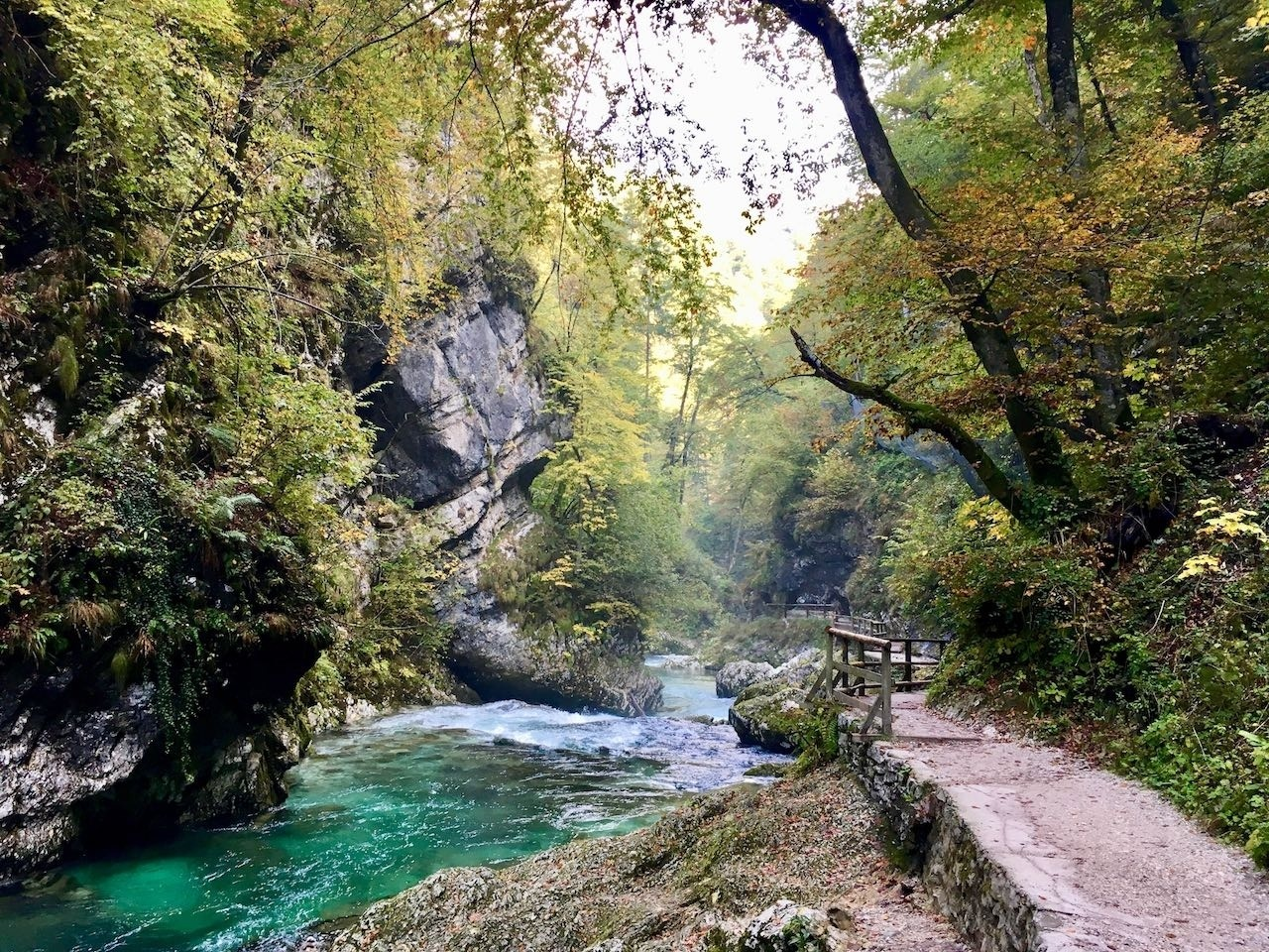 Lake Bled river