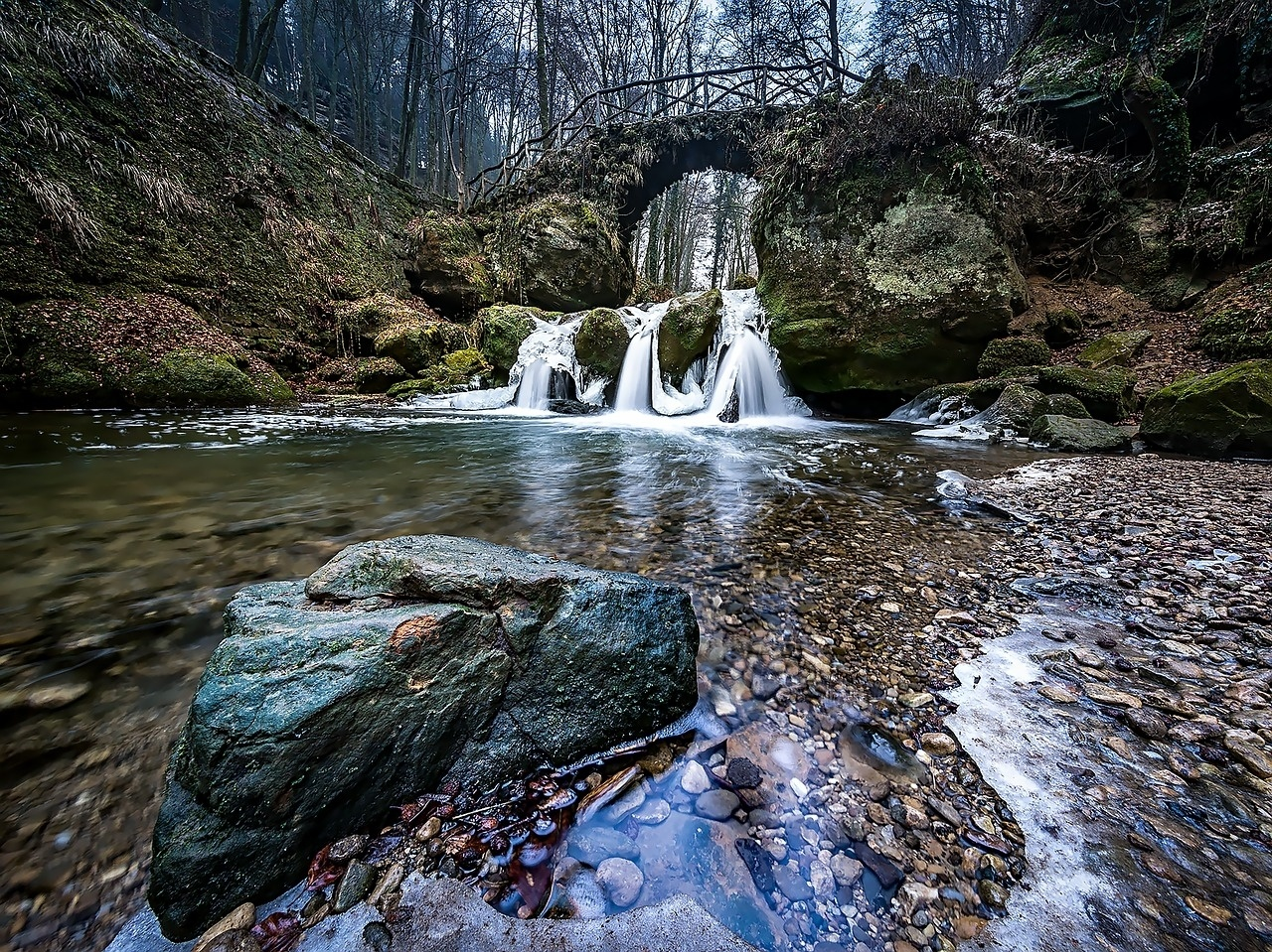 Waterfall in Luxembourg