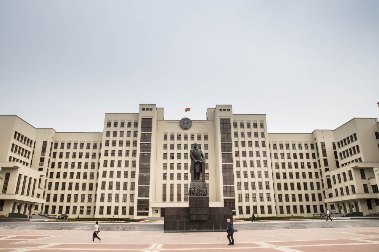 Independence Square in Minsk