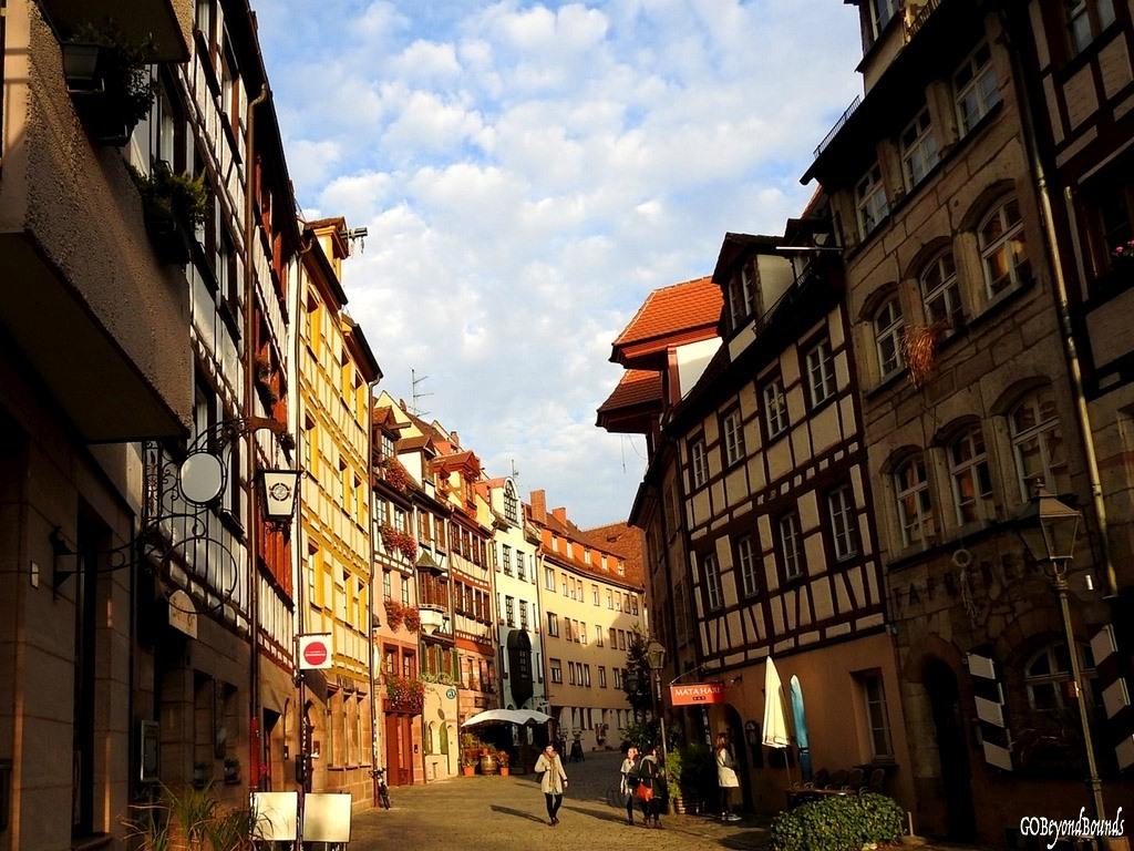 Nuremberg city scene